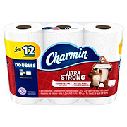 Charmin Ultra Strong Double Roll Toilet Paper