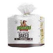 Charras Baked Corn Tostadas