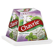 Chavrie Mild Goat Cheese with Sweet Basil