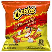 Cheetos Crunchy Flamin' Hot Cheese Snacks