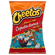 Cheetos Crunchy Flamin' Hot Chipotle Ranch Cheese Flavored Snacks