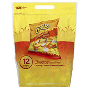 Cheetos Go Sack Crunchy Flamin' Hot Snacks 12 CT