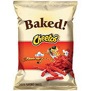 Cheetos Oven Baked Flamin' Hot Cheese Flavored Snacks