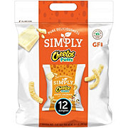 Cheetos Simply White Cheddar Puffs Singles