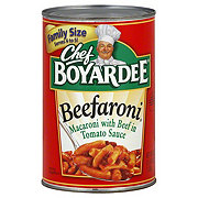 Chef Boyardee Beefaroni in Tomato and Meat Sauce