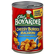 Chef Boyardee CheesyBurger Macaroni