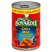 Chef Boyardee Chili Mac
