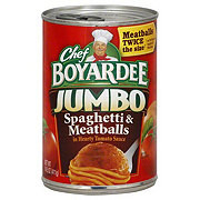 Chef Boyardee Jumbo Spaghetti and Meatballs