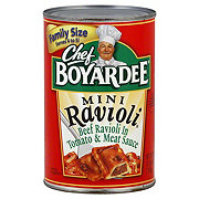 Chef Boyardee Mini Beef Ravioli Family Size