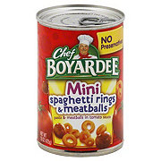 Chef Boyardee Mini Spaghetti Rings and Meatballs