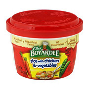 Chef Boyardee Rice with Chicken & Vegetables
