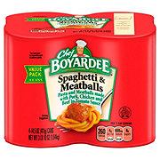 Chef Boyardee Spaghetti & Meatballs in Tomato Sauce