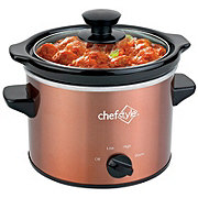 chefstyle 2 Quart Copper Slow Cooker