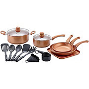 chefstyle 22 Piece Copper Cookware Set