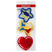 chefstyle Cookie Cutter, Set of 3