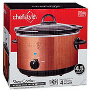 chefstyle Copper Slow Cooker