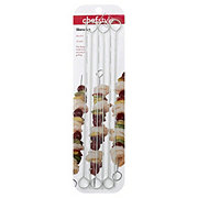 chefstyle Flat Metal Skewers, 6 ct.