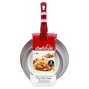 chefstyle Non-Stick Fry Pan Set