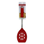 chefstyle Red Slotted Turner
