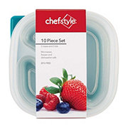 chefstyle Square Divided Storage Set
