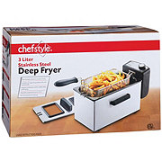chefstyle Stainless Steel Deep Fryer