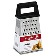 chefstyle Stainless Steel Grater Box with Handle