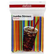 Chefstyle Straight Jumbo Drinking Straws