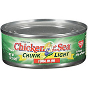 Chicken of the Sea Chunk Light Tuna in Oil