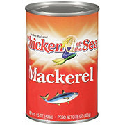 Chicken of the Sea Mackerel in Water