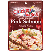 Chicken of the Sea Skinless & Boneless Pink Salmon Pouch