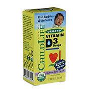 ChildLife Essentials Organic Vitamin D3 Drops Berry