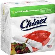 Chinet Classic White Lunch Napkins