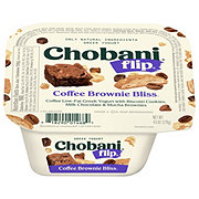 Chobani Flip Low-Fat Coffee Brownie Bliss Greek Yogurt