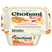 Chobani Flip Low-Fat Perfect Peach Cobbler Greek Yogurt