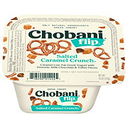 Chobani Flip Low-Fat Salted Caramel Crunch Greek Yogurt