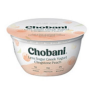Chobani Hint Of Clingstone Peach Greek Yogurt