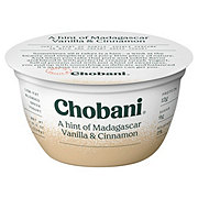 Chobani Low-Fat A Hint of Madagascar Vanilla & Cinnamon Greek Yogurt