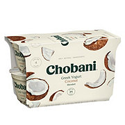 Chobani Low-Fat Blended Coconut Greek Yogurt
