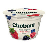 Chobani Low-Fat Mixed Berry Blended Greek Yogurt