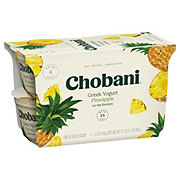 Chobani Low-Fat Pineapple on the Bottom Greek Yogurt