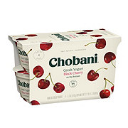 Chobani Non-Fat Black Cherry on the Bottom Greek Yogurt