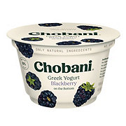 Chobani Non-Fat Blackberry on the Bottom Greek Yogurt