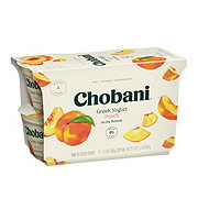 Chobani Non-Fat Peach on the Bottom Greek Yogurt