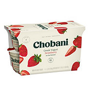 Chobani Non-Fat Strawberry on the Bottom Greek Yogurt
