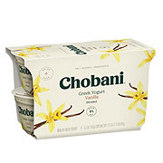 Chobani Non-Fat Vanilla Blended Greek Yogurt