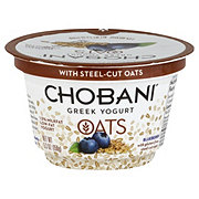 Chobani Oats Blueberry Greek Yogurt