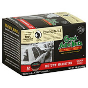 Chock Full o' Nuts Midtown Manhattan Medium Roast Single Serve Coffee Pods