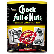 Chock Full o' Nuts Original Medium Roast Ground Coffee