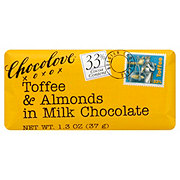 Chocolove Mini Toffee Almond Chocolate Bar