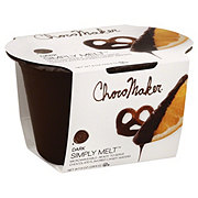 ChocoMaker Simply Melt Dark Chocolate Flavored Dipping Wafers